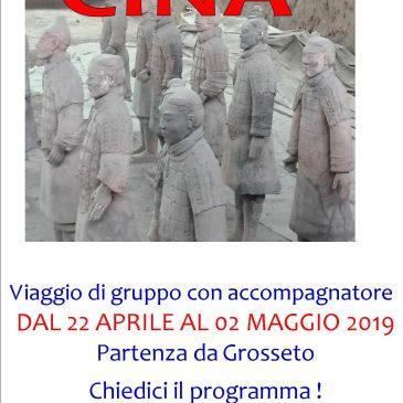 CINA – VIAGGIO DI GRUPPO 2019 – 22 Aprile / 2 Maggio