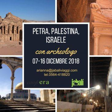 PETRA PALESTINA ISRAELE –  Viaggio di gruppo CONFERMATO