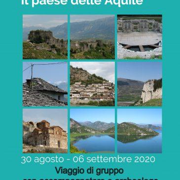 ALBANIA – Viaggio accompagnato dal 30 Agosto al 6 Settembre 2020